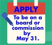 Serve your City by applying to be on a Board or Commission