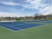 Try the Pickleball League at Doanes Park Tennis Courts