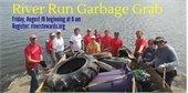 Volunteer for the River Run Garbage Grab