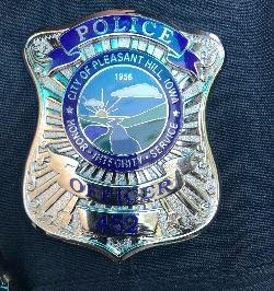 Pleasant Hill Police Badge