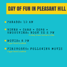 DAY OF FUN IN PLEASANT HILL