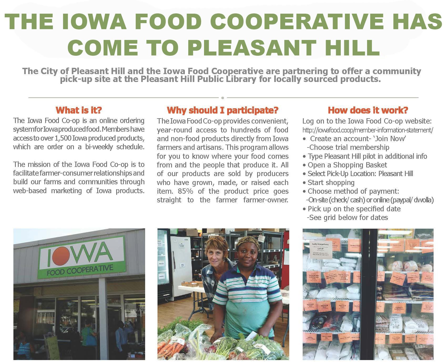 Pleasant Hill Food Cooperative