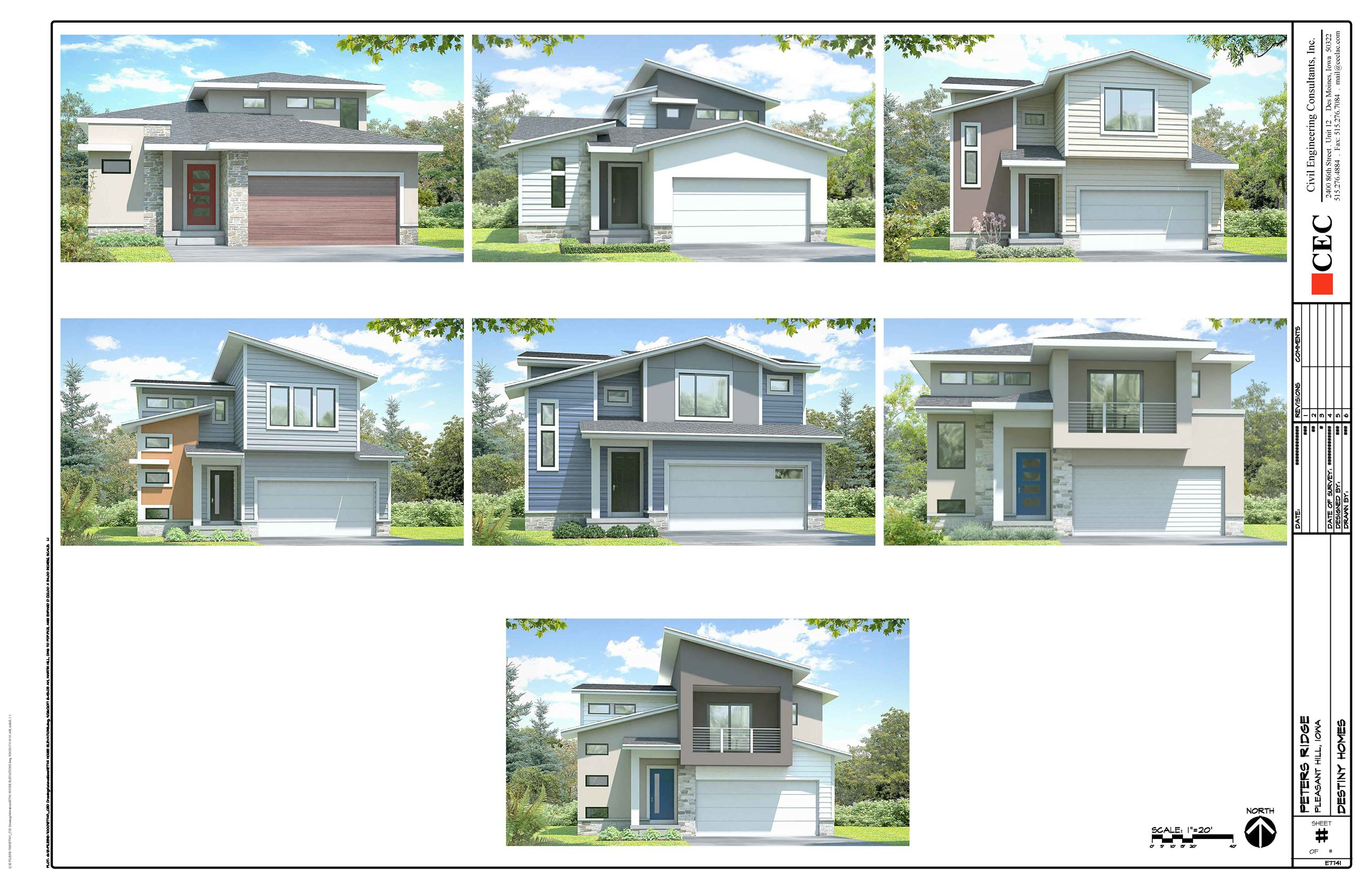 Peter&#39s Ridge House Elevations