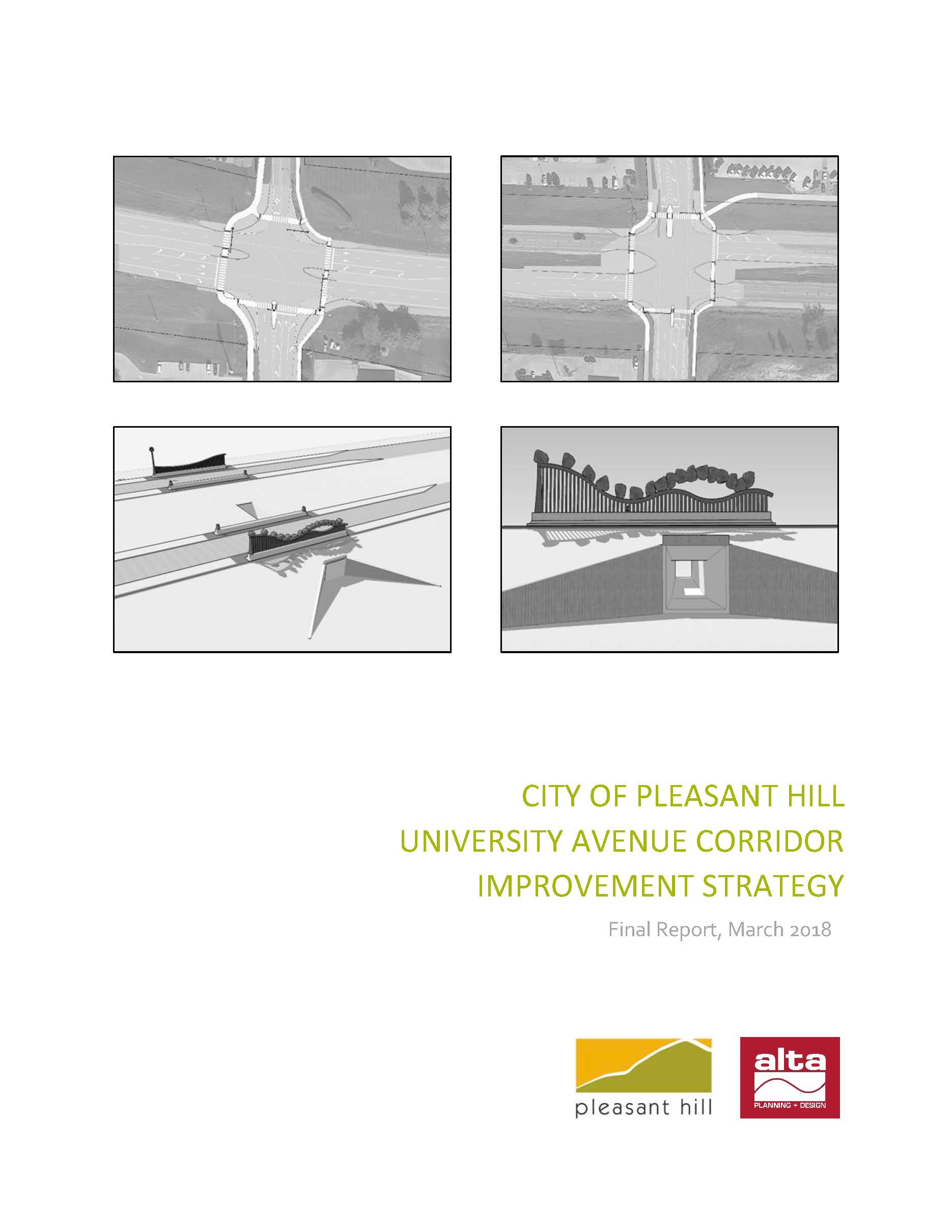 Pleasant Hill University Avenue Corridor Improvement Strategy