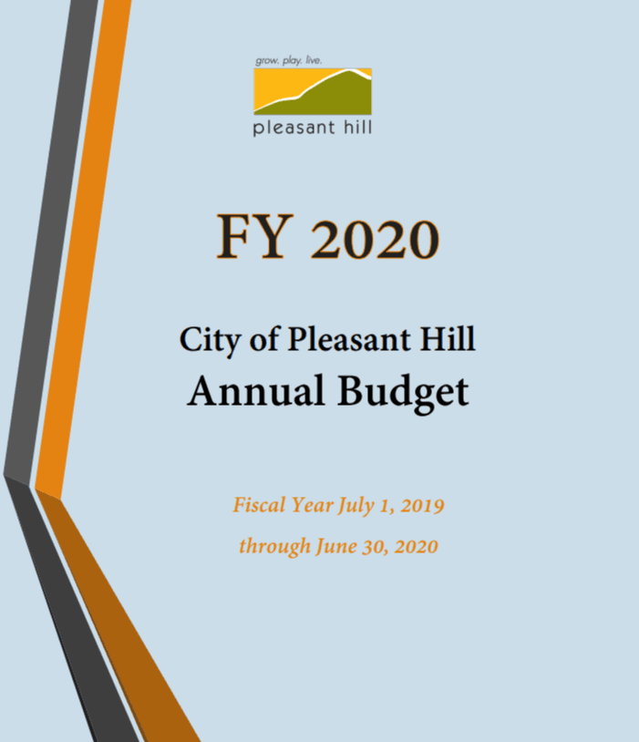 FY20 Budget Cover