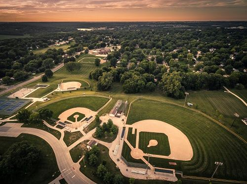 Doanes Park Baseball and Softball fields