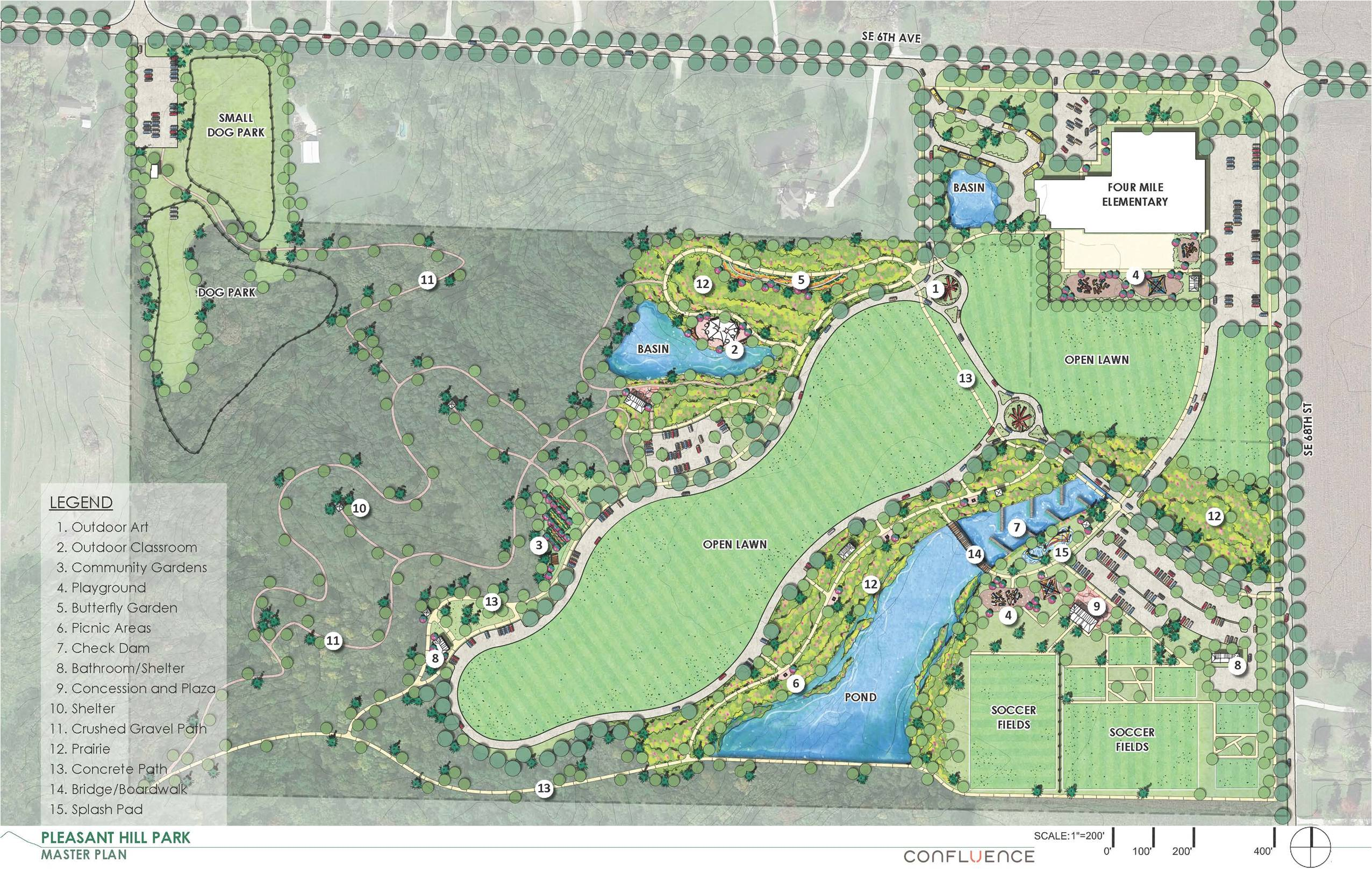 New 77-acre park master plan