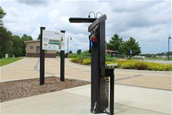 Bike Repair Station at Copper Creek Lake Park